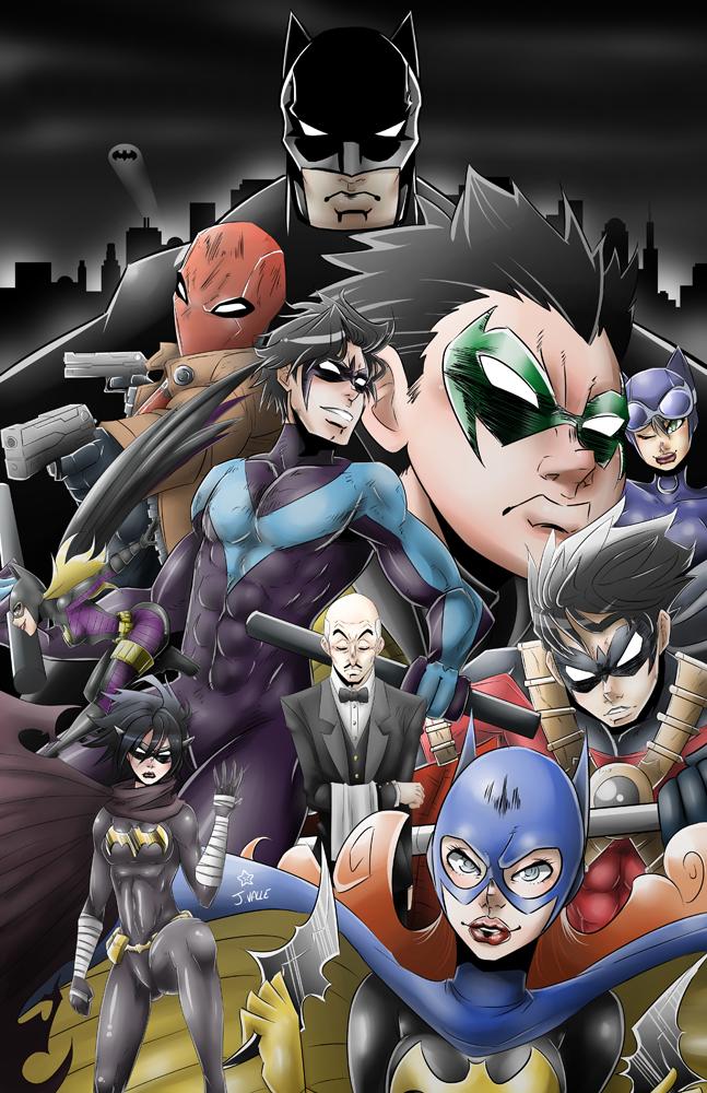 BAT FAMILY by kentaropjj