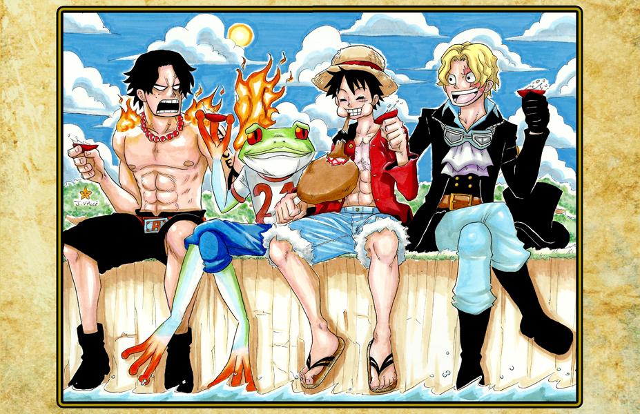 One Piece - Cheers by kentaropjj