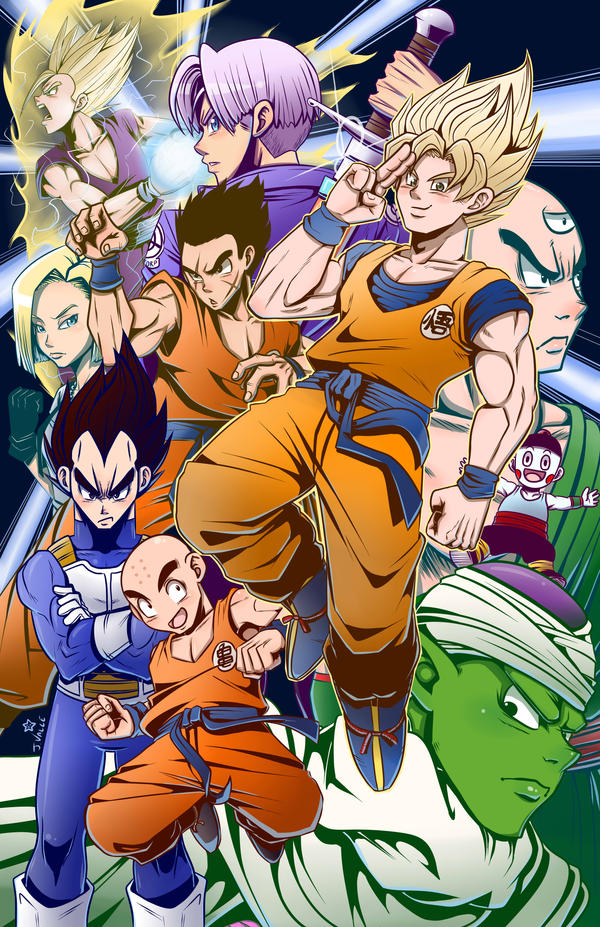 Dragon Ball Z - WE GOTTA POWER by kentaropjj