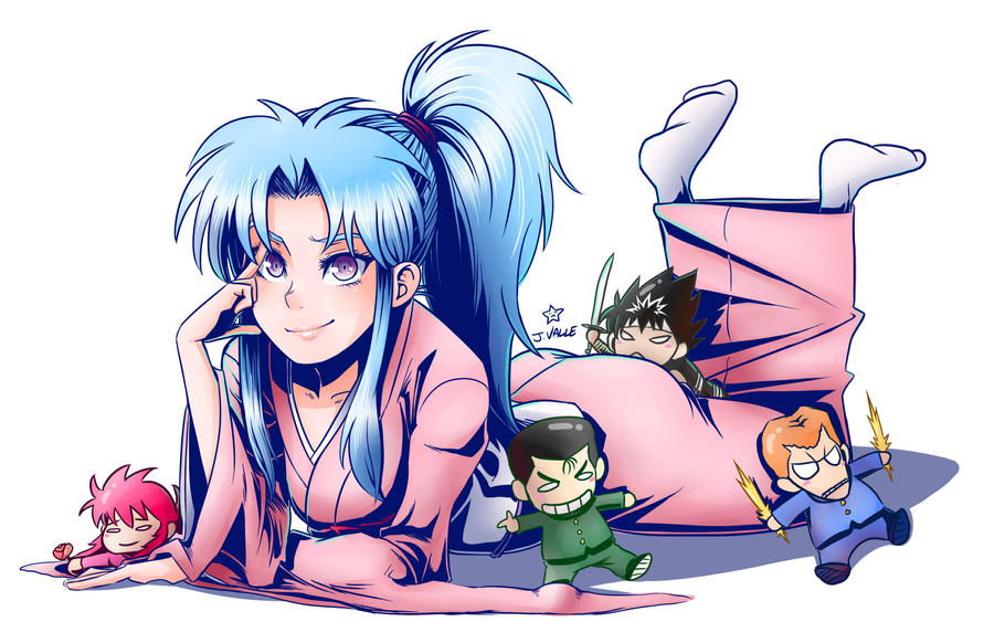 Shonen Jump Girls - Botan by kentaropjj