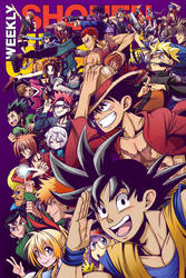 Weekly Shonen Jump 2016 Cover Contest Entry