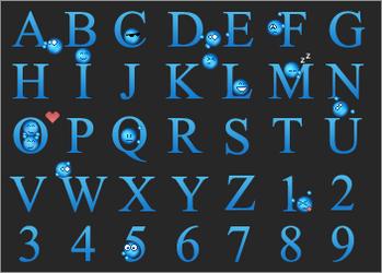 Emoticon Alphabet
