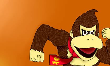 Donkey Kong by NoTeethBilly