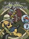 [DD] Daring Do and the Sonic Rainboom (Cover 2)