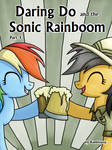 [DD] Daring Do and the Sonic Rainboom (Cover 3)