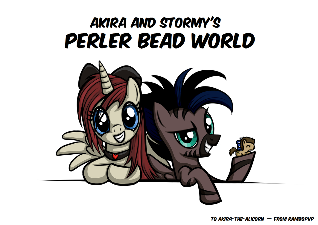 [Request] Akira and Stormy's Perler Bead World by Rambopvp