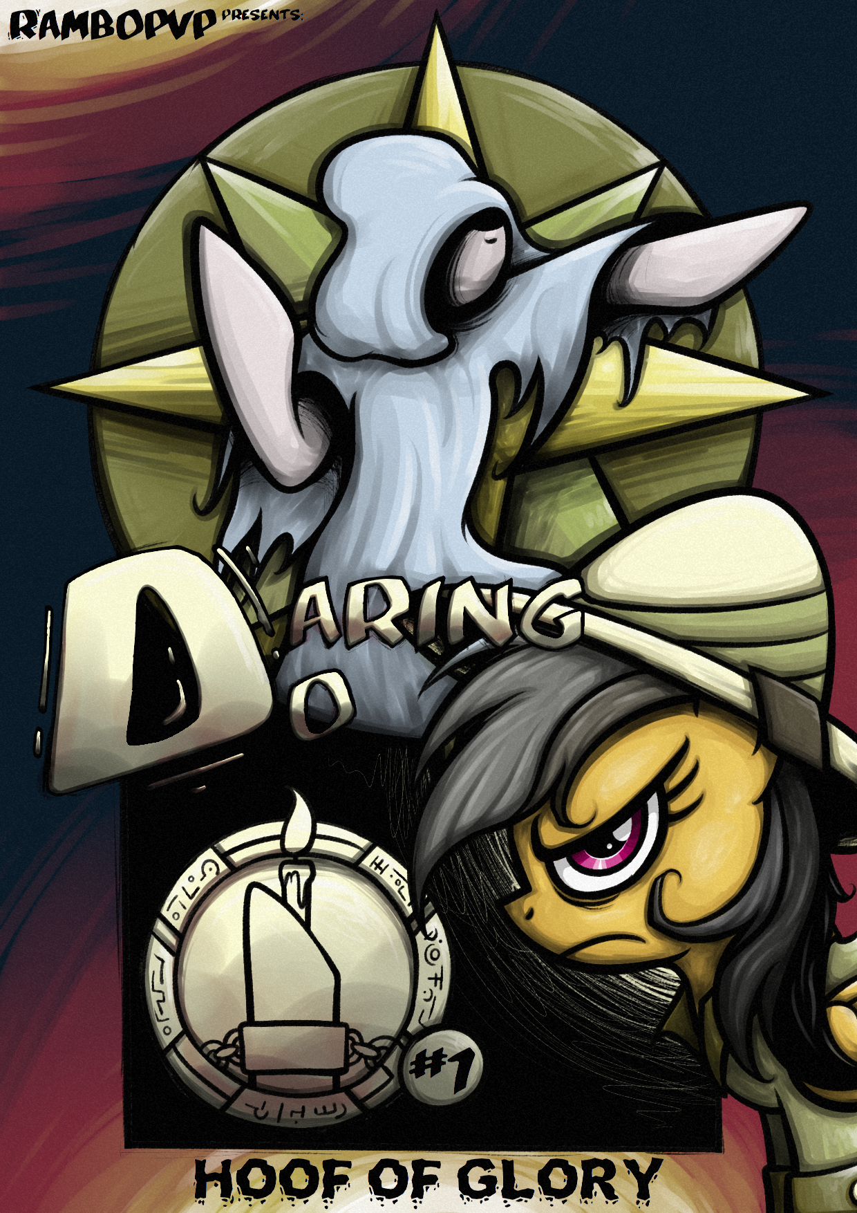 [DD] Daring Do and the Hoof of Glory #1