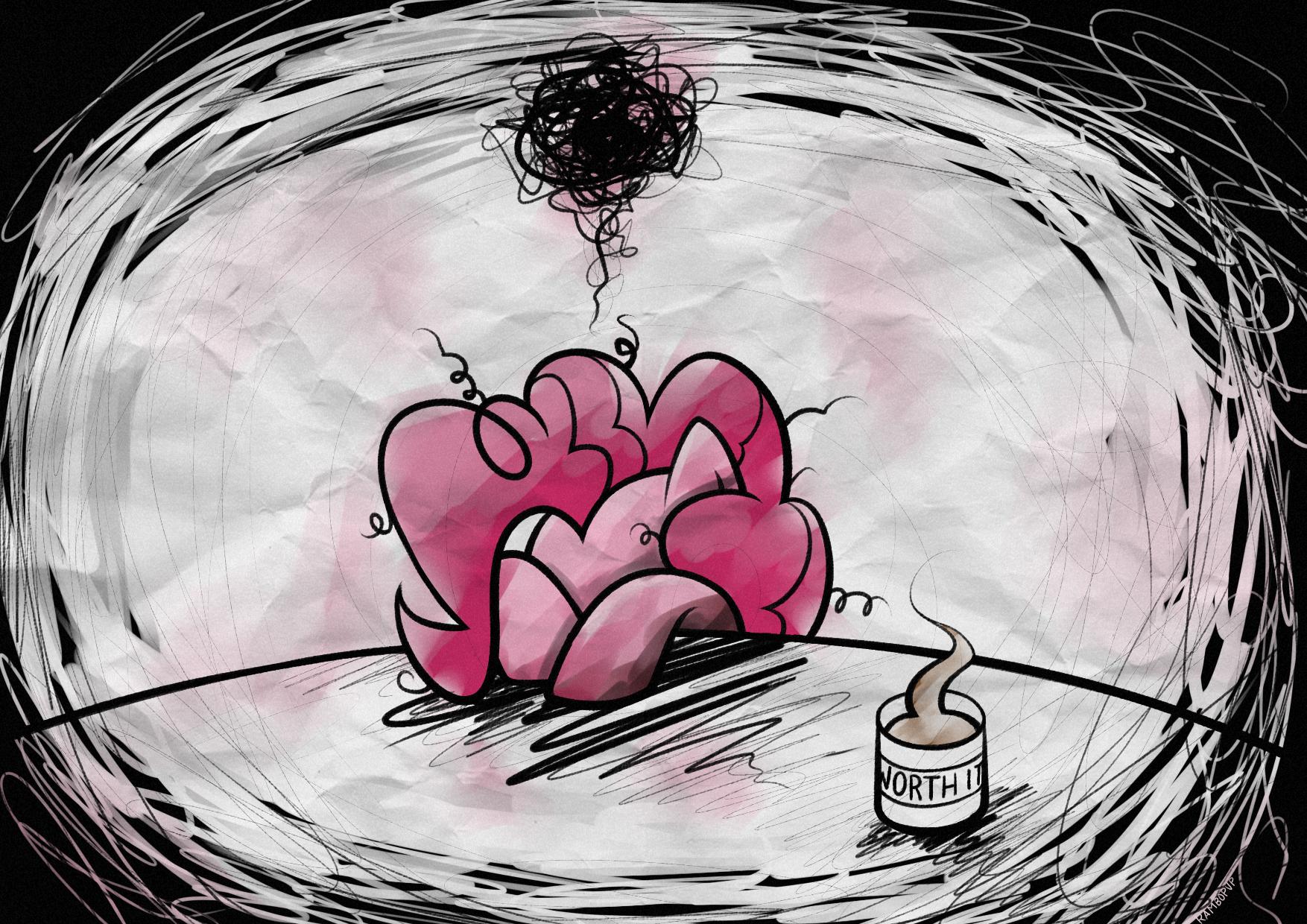 Pinkamena Hangover Pie by Rambopvp