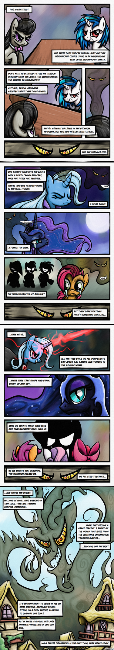 [Comic] Logic of a Mad God by Rambopvp