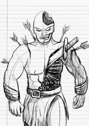 [Sketch] Hillock, the Blacksmith