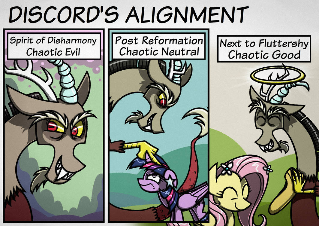 Comic?] Discord's Alignment by Rambopvp on DeviantArt