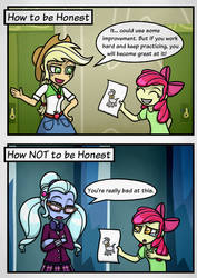 [Comic] How to be Honest