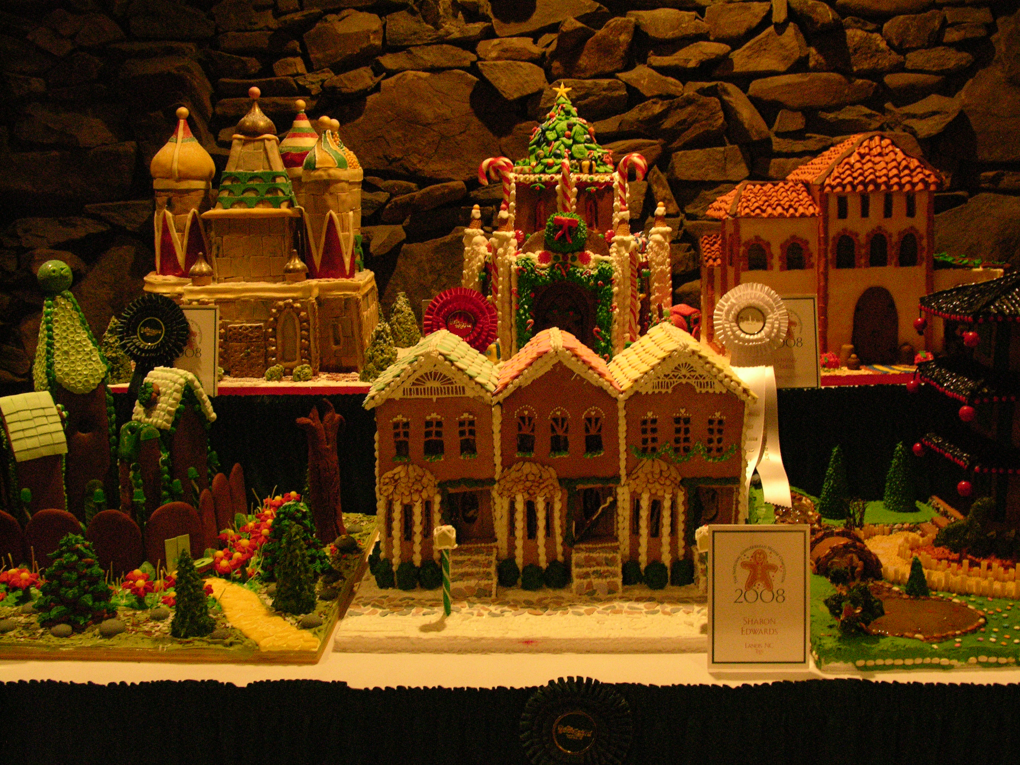 Gingerbread Houses by HauntingVisionsStock