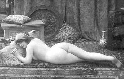 Vintage Nude 6 by HauntingVisionsStock