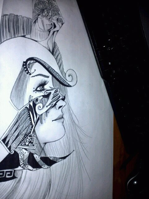 Athena Goddess Of Wisdom W I P 3 By Serenadeofshadows On
