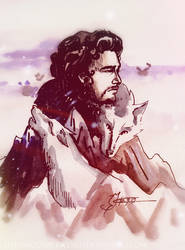 Jon Snow by MoonPrincess93