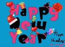 happy new year by silvazerock