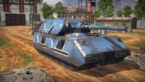 PanzerKampfWagen (Pz.Kpfw) VIII Maus.