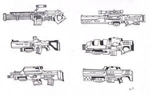 GUNS by darkpaladin07