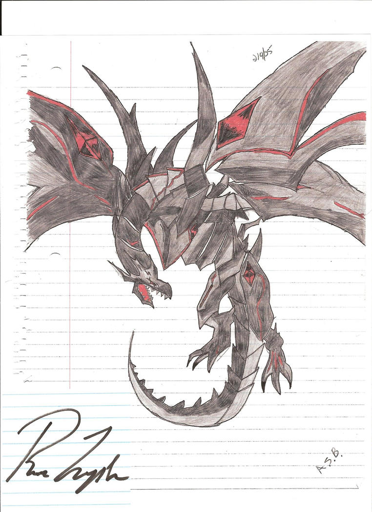 Red Eyes Black Metal Dragon By Crazydinosuar Dragon Muscles: How To Draw  Them