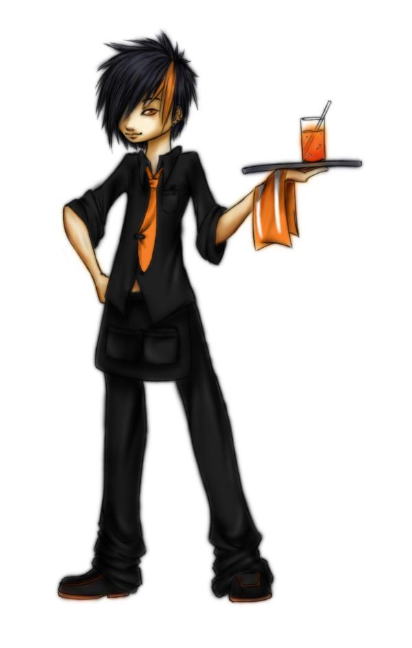 Orange Juice Colored by ilovebluejello