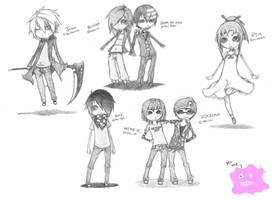 Chibi Sketch Requests by ilovebluejello