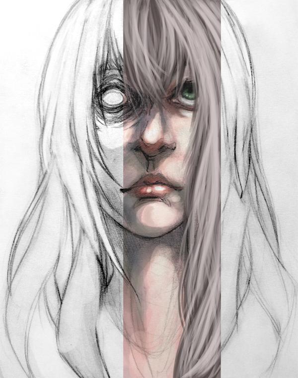 Ghost Face by ilovebluejello