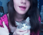 Kitty gif :3 by GreenMich