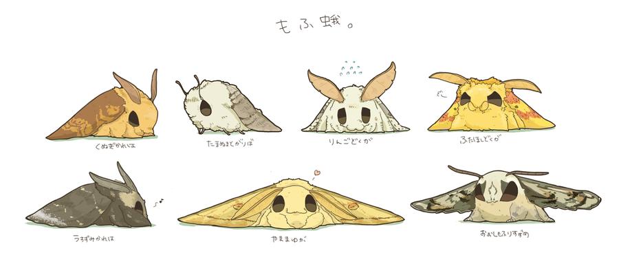 Bildergebnis für cute anime moth