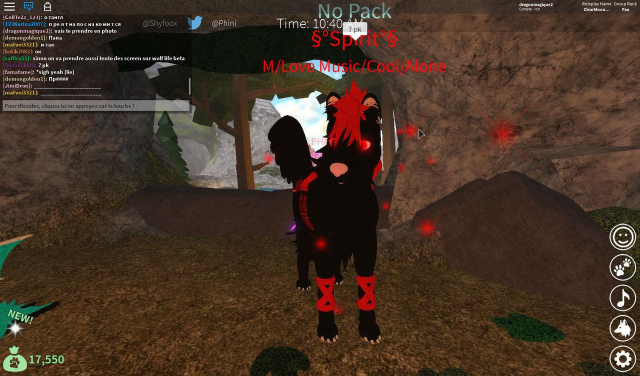 Wolves Life 3 Roblox Spirit By Dragonmagique2 On Deviantart