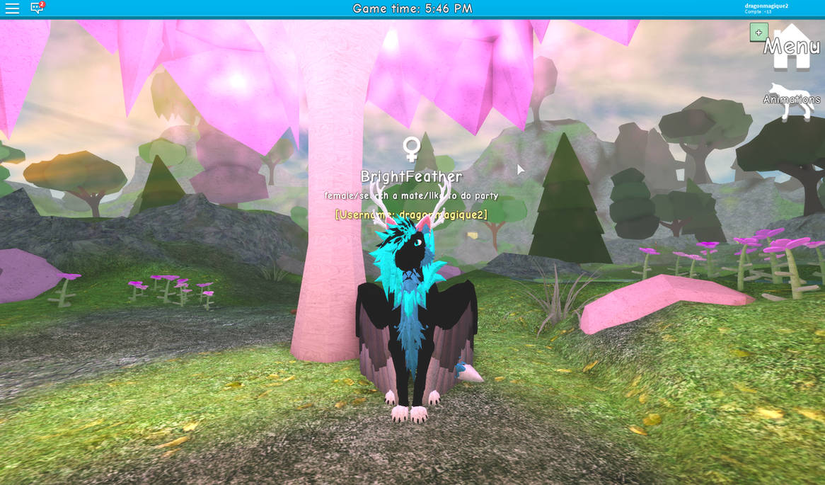 Wolves Life Beta Roblox Brightfeather By Dragonmagique2 On