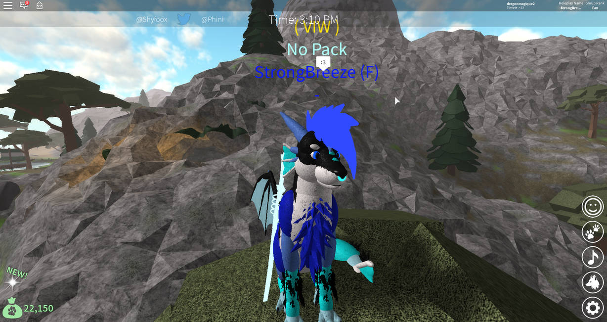 Roblox Wolves Life 3 Strongbreeze 1 By Dragonmagique2 On