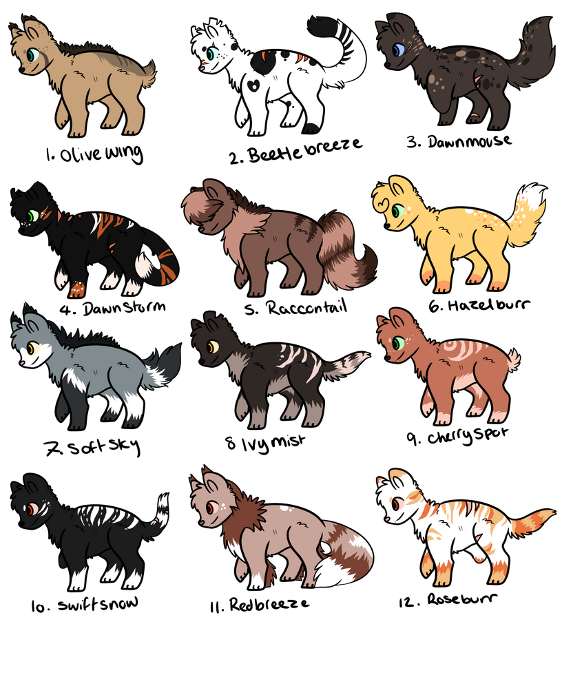 Warrior Cats Generator Fanfiction
