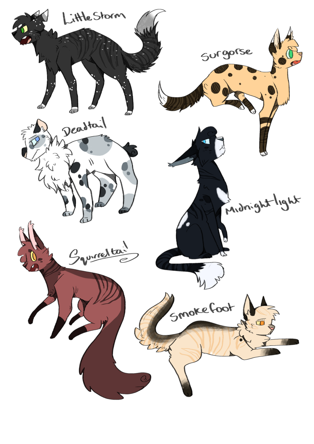 Warrior Cats Spottedleaf Ref