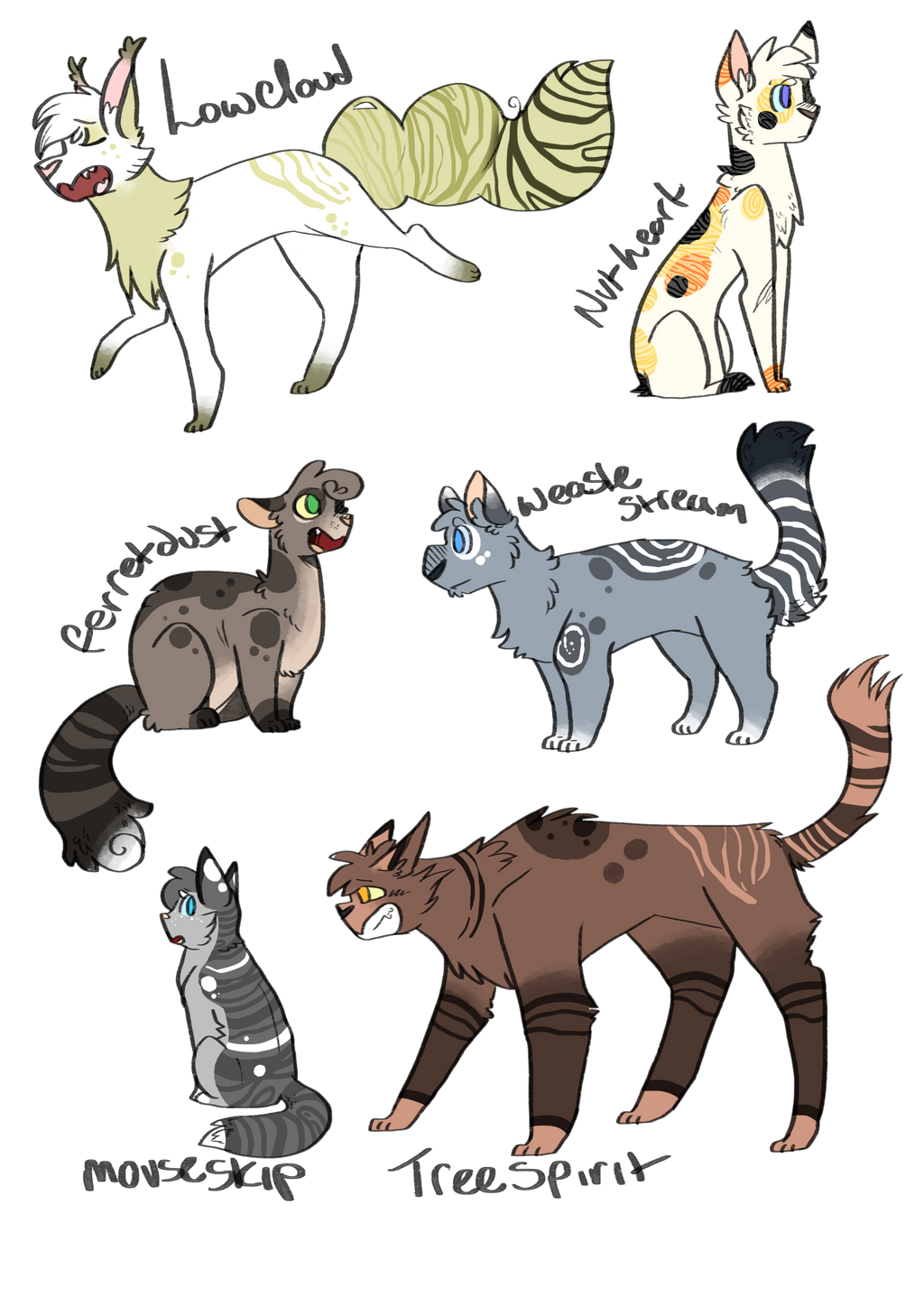 Warrior Cat Names List From The Books