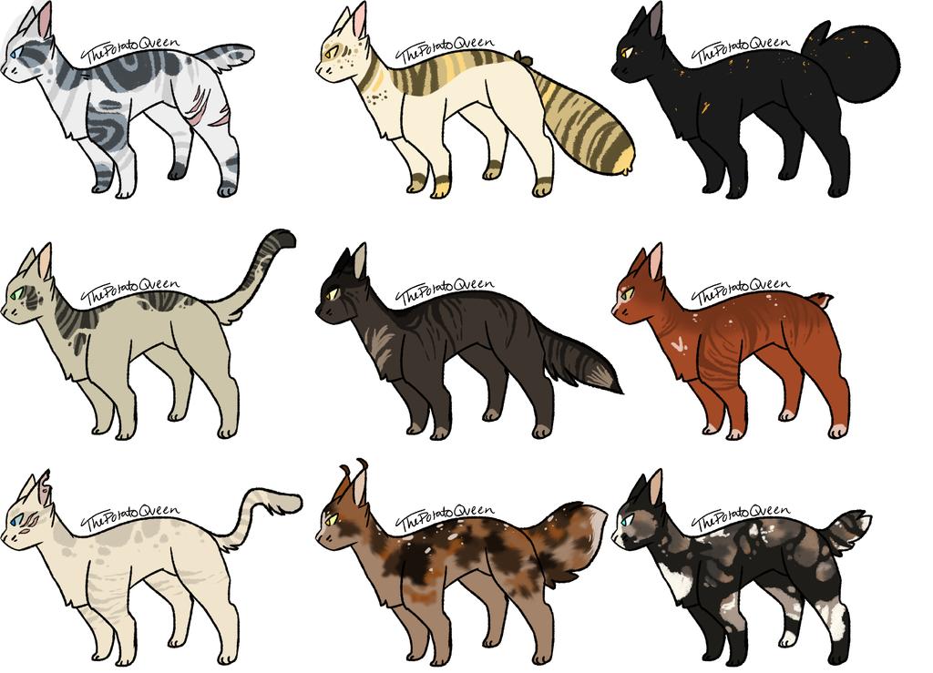 Warrior Cats Adoptables Site