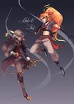 Dex + Daina [ver. Hunter / Thief]