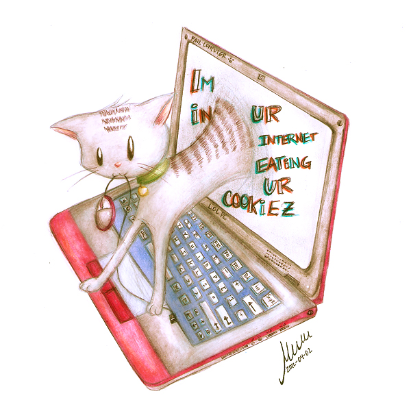 Im in ur internet by muffinmimi