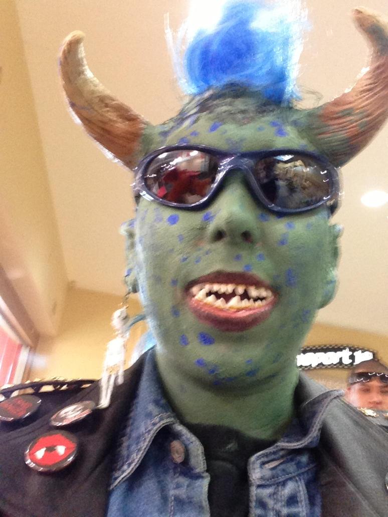 maurice of little monsters halloween 2013 by joker104 on