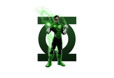 Green lantern New 52 by Robthesinger