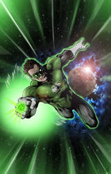 Green Lantern by Robthesinger