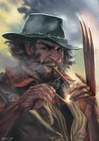 Western Wolverine by Mar11co