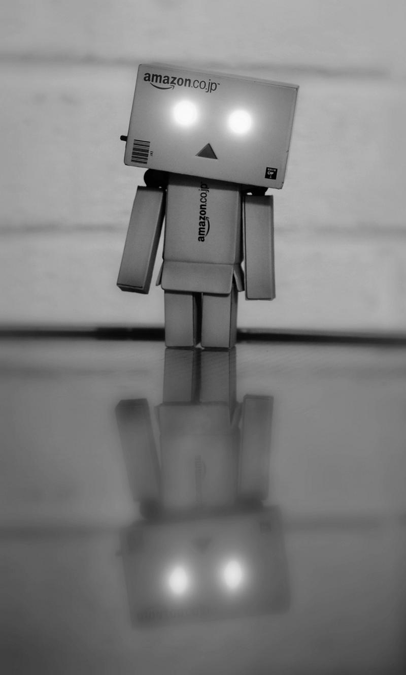 Danbo in the dark. by BeciAnne