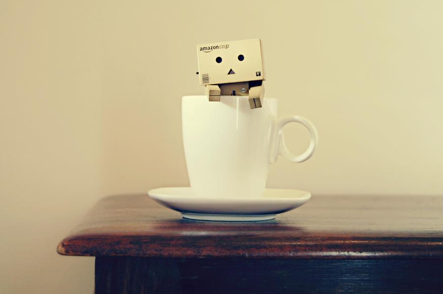 Danbo mug shot by BeciAnne