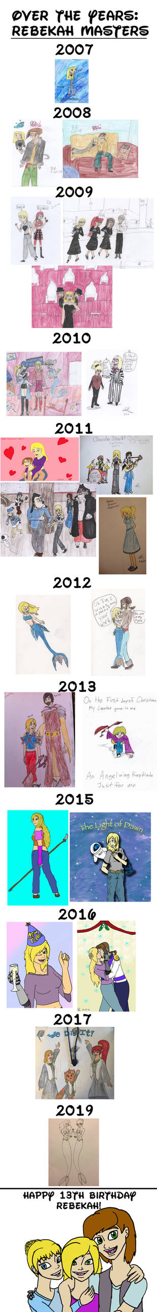 Over the Years - Rebekah Masters