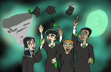 Danny Phantom Graduation in the Ghost Zone