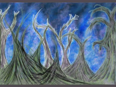 Swampy Webbing Trees