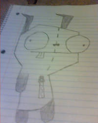 Gir sketch doodle by Muffinygoodness