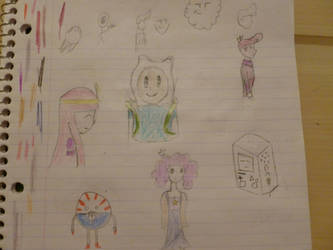 Adventure Time doodles by Muffinygoodness