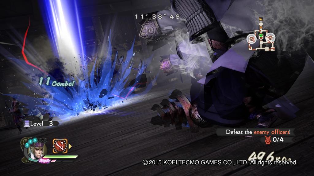 Kenshin Uesugi Gameplay 7  Samurai Warriors 4-2 by Luipunker91